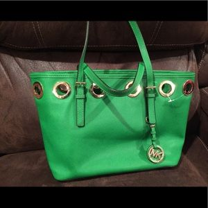 Green MK purse